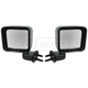 1AMRP00583-2007-10 Jeep Wrangler Mirror Pair