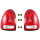 1ALTP00596-Tail Light & Socket Set Pair