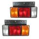 1ALTP00592-Isuzu Tail Light Pair