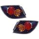 1ALTP00538-Mazda 3 Tail Light Pair