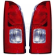 1ALTP00547-2001-02 Nissan Quest Tail Light Pair