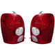 1ALTP00546-2002-03 Mazda Protege Protege5 Tail Light Pair