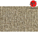 ZAICK18284-1989-94 Nissan Maxima Complete Carpet 7099-Antelope/Light Neutral