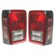 1ALTP00508-2007-13 Jeep Wrangler Tail Light Pair