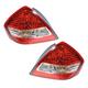 1ALTP00688-2007-11 Nissan Versa Tail Light Pair
