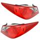 1ALTP00693-2011-14 Hyundai Sonata Tail Light Pair