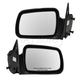 1AMRP00676-1993-95 Jeep Grand Cherokee Mirror Pair