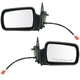 1AMRP00647-1993-95 Jeep Grand Cherokee Mirror Pair