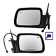 1AMRP00649-1996-98 Jeep Grand Cherokee Mirror Pair