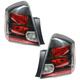 1ALTP00614-2007-09 Nissan Sentra Tail Light Pair