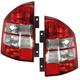 1ALTP00621-2007-10 Jeep Compass (MK) Tail Light Pair