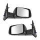 1AMRP00607-Mirror Pair Gloss Black