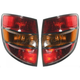 1ALTP00605-2003-08 Pontiac Vibe Tail Light Pair