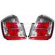 1ALTP00613-2007-09 Nissan Sentra Tail Light Pair