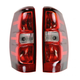 1ALTP00640-2007-13 Chevy Avalanche 1500 Tail Light Pair