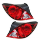1ALTP00635-2006-09 Pontiac G6 Tail Light Pair