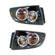 1ALTP00668-2007-09 Mazda 3 Tail Light Pair