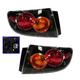 1ALTP00666-2004-06 Mazda 3 Tail Light Pair