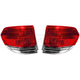 1ALTP00663-2008-10 Honda Odyssey Tail Light Pair