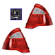 1ALTP00796-2010-12 Ford Fusion Fusion Hybrid Tail Light Pair