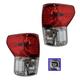 1ALTP00799-2010-13 Toyota Tundra Tail Light Pair