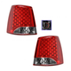 1ALTP00788-2011-13 Kia Sorento Tail Light Pair