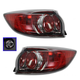 1ALTP00785-2010-13 Mazda 3 Tail Light Pair