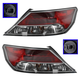 1ALTP00784-2009-11 Acura TL Tail Light Pair