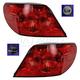 1ALTP00783-2009-10 Chrysler Sebring Tail Light Pair
