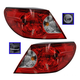 1ALTP00782-2008 Chrysler Sebring Tail Light Pair