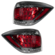 1ALTP00763-2011-13 Toyota Highlander Hybrid Tail Light Pair