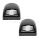 1ALTP00762-License Plate Light Lens Pair Black