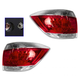 1ALTP00764-2011-13 Toyota Highlander Tail Light Pair