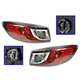 1ALTP00757-2010-13 Mazda 3 Tail Light Pair