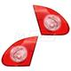 1ALTP00746-2003-08 Toyota Corolla Tail Light Pair