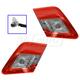 1ALTP00745-2010-11 Toyota Camry Tail Light Pair