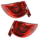 1ALTP00735-2009-12 Chevy Traverse Tail Light Pair