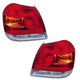 1ALTP00730-Toyota Echo Tail Light Pair