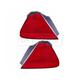 1ALTP00721-1998-02 Honda Accord Tail Light Pair