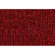 ZAICK08224-1975-77 Dodge W100 Truck Complete Carpet 4305-Oxblood