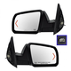 1AMRP00423-Toyota Sequoia Tundra Mirror Pair Chrome Cap