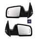 1AMRP00424-Toyota Sequoia Tundra Mirror Pair Black