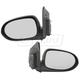 1AMRP00428-2007-12 Dodge Caliber Mirror Pair