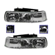 1ALHZ00035-Chevy Headlight Pair
