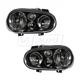 1ALHZ00038-Volkswagen Cabrio Golf Headlight Pair