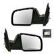 1AMRP00417-Toyota Sequoia Tundra Mirror Pair