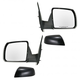 1AMRP00416-Toyota Sequoia Tundra Mirror Pair Black