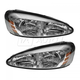 1ALHZ00030-2004-08 Pontiac Grand Prix Headlight Pair