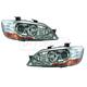 1ALHZ00028-2002-03 Mitsubishi Lancer Headlight Pair