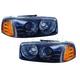 1ALHZ00024-GMC Sierra 1500 Yukon Headlight Pair